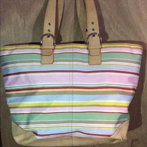 RARE!! COACH travel bag